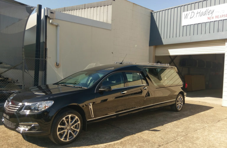 Completed Build Nepean Valley Funerals Hearse