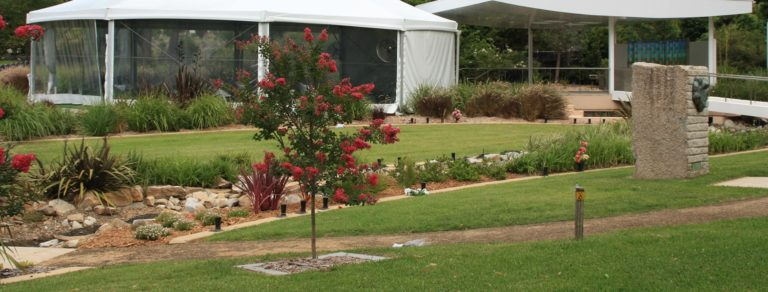 Funeral Service Location with Gazebo