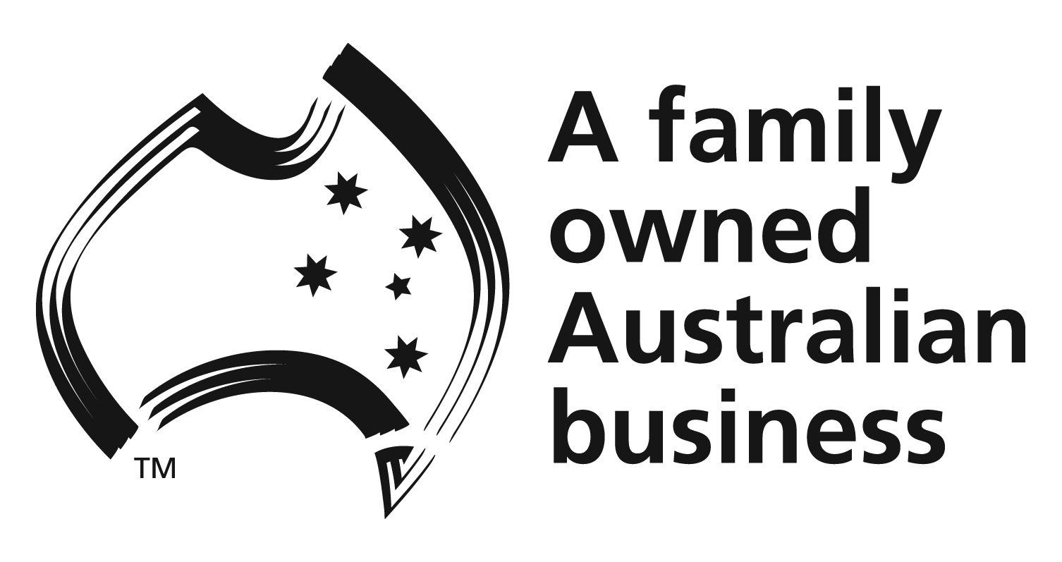 Trust Logo - A Family Owned Australian Business